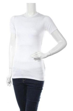 Дамска тениска Missguided, Размер S, Цвят Бял, 75% полиестер, 20% вискоза, 5% еластан, Цена 11,20лв.