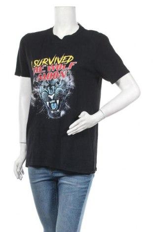 Дамска тениска Missguided, Размер S, Цвят Черен, Памук, Цена 19,50лв.