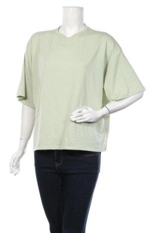 Дамска тениска Missguided, Размер S, Цвят Зелен, Цена 19,50лв.