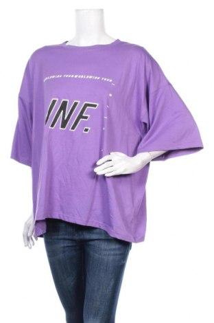 Дамска тениска Missguided, Размер S, Цвят Лилав, Цена 21,58лв.