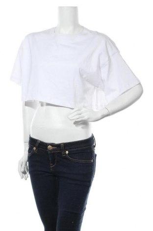 Дамска тениска Missguided, Размер S, Цвят Бял, Памук, Цена 10,40лв.