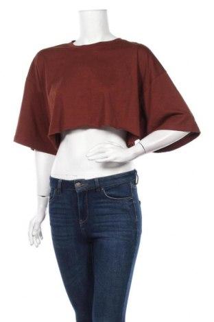 Дамска тениска Missguided, Размер S, Цвят Кафяв, Цена 11,25лв.