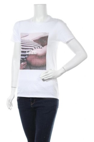 Дамска тениска Missguided, Размер S, Цвят Бял, Памук, Цена 10,80лв.