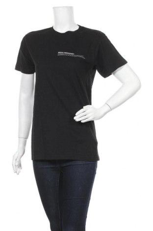 Дамска тениска Missguided, Размер S, Цвят Черен, Памук, Цена 10,40лв.