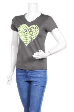 Дамска тениска Nike, Размер S, Цвят Сив, Полиестер, Цена 19,20лв.