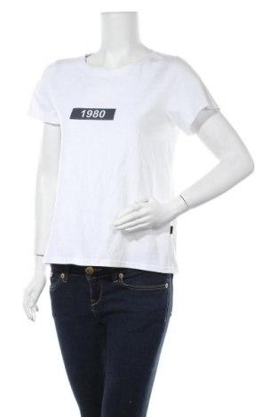 Дамска тениска Noisy May, Размер M, Цвят Бял, Памук, Цена 21,75лв.