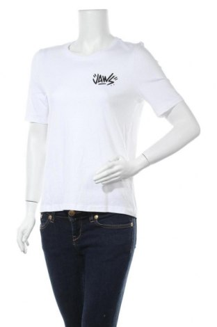 Дамска тениска ONLY, Размер S, Цвят Бял, 95% памук, 5% еластан, Цена 21,75лв.
