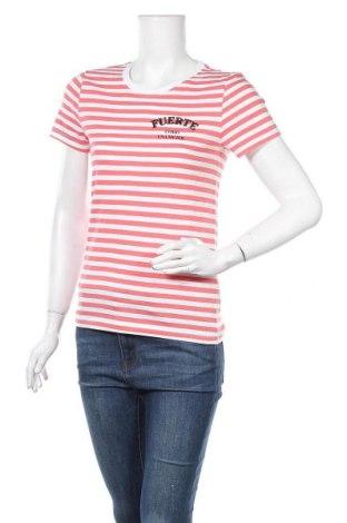 Дамска тениска ONLY, Размер S, Цвят Бял, Памук, Цена 25,50лв.