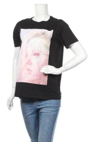 Дамска тениска Vero Moda, Размер S, Цвят Черен, 70% лиосел, 30% памук, Цена 21,75лв.