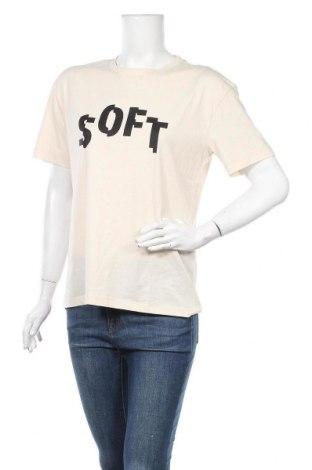 Дамска тениска Vero Moda, Размер S, Цвят Бежов, 60% памук, 40% полиестер, Цена 15,30лв.
