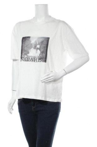 Дамска тениска Vero Moda, Размер S, Цвят Бял, Памук, Цена 11,60лв.