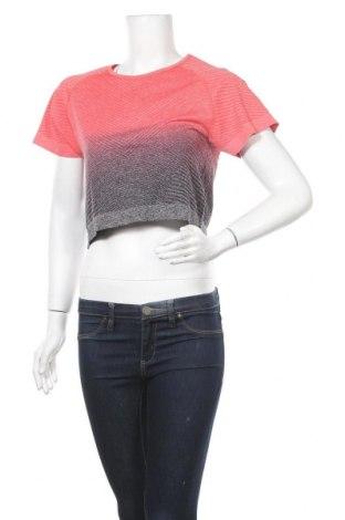 Дамска тениска Work Out, Размер L, Цвят Червен, 76% полиамид, 17% полиестер, 7% еластан, Цена 21,84лв.