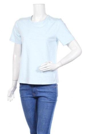 Дамска тениска Y.A.S, Размер M, Цвят Син, Памук, Цена 21,75лв.