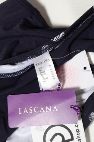 Дамски бански Lascana, Размер M, Цвят Син, 80% полиамид, 20% еластан, Цена 14,44лв.