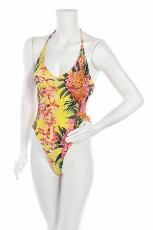 Дамски бански Zara, Размер S, Цвят Многоцветен, 75% полиамид, 25% еластан, Цена 44,25лв.