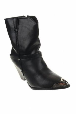 Γυναικεία μποτάκια, Μέγεθος 39, Χρώμα Μαύρο, Δερματίνη, Τιμή 26,68€