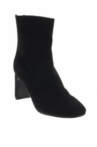 Γυναικεία μποτάκια Boohoo, Μέγεθος 38, Χρώμα Μαύρο, Κλωστοϋφαντουργικά προϊόντα, Τιμή 8,89€