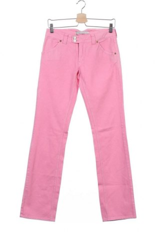 Дамски дънки, Размер XS, Цвят Розов, Памук, Цена 10,10лв.
