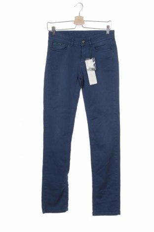 Дамски дънки One Step, Размер XS, Цвят Син, 98% памук, 2% еластан, Цена 33,97лв.
