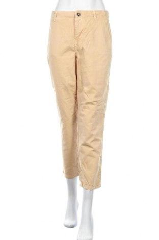 Дамски дънки Zara, Размер M, Цвят Бежов, 100% памук, Цена 15,12лв.