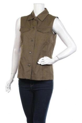 Дамски елек Bianca, Размер M, Цвят Зелен, 97% памук, 3% еластан, Цена 17,01лв.