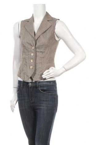 Дамски елек Bianca, Размер S, Цвят Многоцветен, 71% памук, 29% лен, Цена 6,40лв.