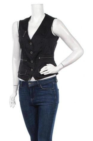 Дамски елек Biba, Размер XS, Цвят Черен, 97% памук, 3% еластан, Цена 7,73лв.