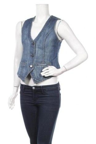 Дамски елек Blue Motion, Размер S, Цвят Син, 99% памук, 1% еластан, Цена 4,83лв.