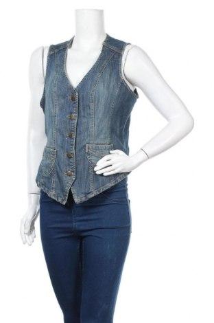 Дамски елек Blue Motion, Размер M, Цвят Син, 99% памук, 1% еластан, Цена 13,86лв.