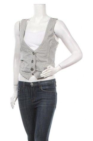 Дамски елек Edc By Esprit, Размер M, Цвят Бял, 97% памук, 3% еластан, Цена 16,17лв.