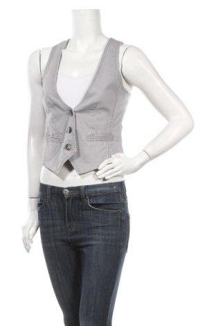 Дамски елек Edc By Esprit, Размер S, Цвят Сив, 98% памук, 2% еластан, Цена 3,41лв.