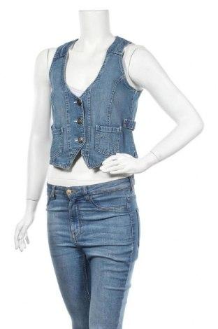 Дамски елек Elle Nor, Размер M, Цвят Син, 98% памук, 2% еластан, Цена 5,51лв.