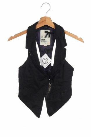 Дамски елек Garcia, Размер XS, Цвят Черен, 98% памук, 2% еластан, Цена 16,17лв.