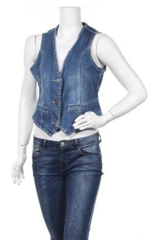 Дамски елек Gina Benotti, Размер L, Цвят Син, 98% памук, 2% еластан, Цена 6,76лв.