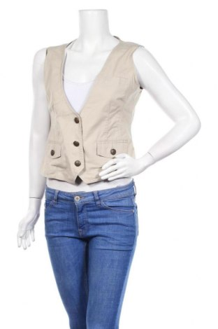 Дамски елек Gina Benotti, Размер M, Цвят Бежов, 97% памук, 3% еластан, Цена 15,12лв.