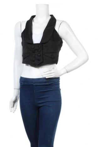 Дамски елек Madonna, Размер M, Цвят Черен, 65% полиестер, 35% памук, Цена 16,54лв.