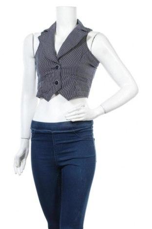 Дамски елек Orsay, Размер S, Цвят Син, 52% памук, 45% полиестер, 3% еластан, Цена 5,04лв.