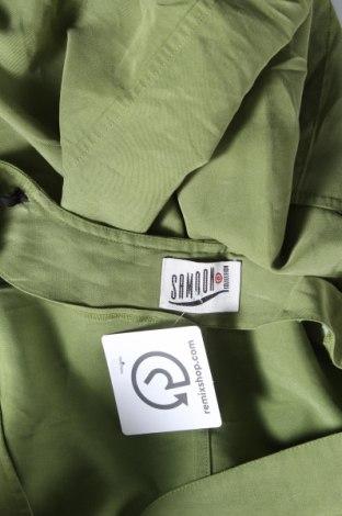 Дамски елек Samoon, Размер XXL, Цвят Зелен, 58% вискоза, 42% полиестер, Цена 20,79лв.