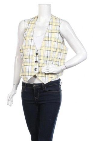 Дамски елек Soccx, Размер XL, Цвят Жълт, 100% памук, Цена 5,55лв.