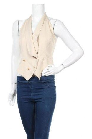 Γυναικείο γιλέκο Vera Mont, Μέγεθος L, Χρώμα  Μπέζ, Τιμή 20,32€