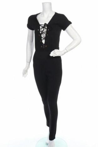 Дамски гащеризон Glamorous, Размер XS, Цвят Черен, 100% полиестер, Цена 26,22лв.