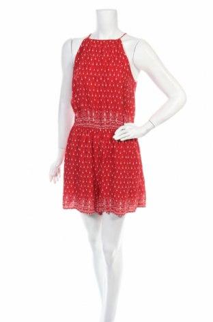 Дамски гащеризон H&M, Размер L, Цвят Червен, Вискоза, Цена 9,56лв.