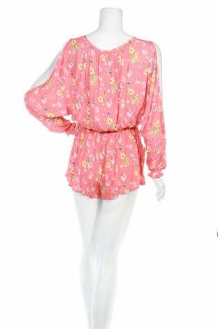 Дамски гащеризон Mango, Размер S, Цвят Розов, Вискоза, Цена 22,42лв.