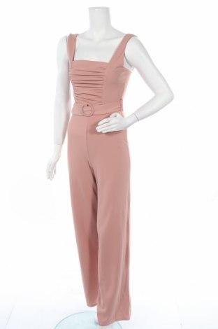 Дамски гащеризон Missguided, Размер S, Цвят Розов, 95% полиестер, 5% еластан, Цена 19,20лв.