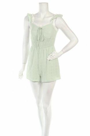 Дамски гащеризон Missguided, Размер XS, Цвят Зелен, Цена 31,50лв.