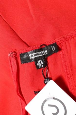 Дамски гащеризон Missguided, Размер S, Цвят Червен, Цена 19,80лв.