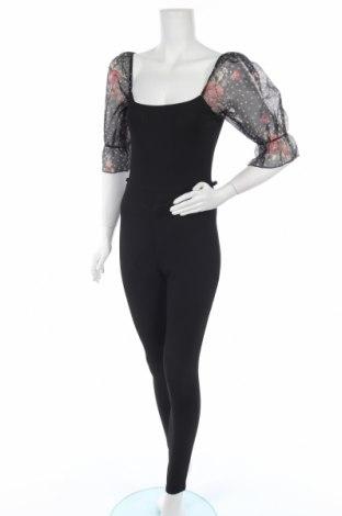Дамски гащеризон Top Fashion, Размер XS, Цвят Черен, Цена 19,20лв.