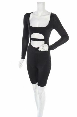 Дамски гащеризон Top Fashion, Размер S, Цвят Черен, Цена 18,06лв.