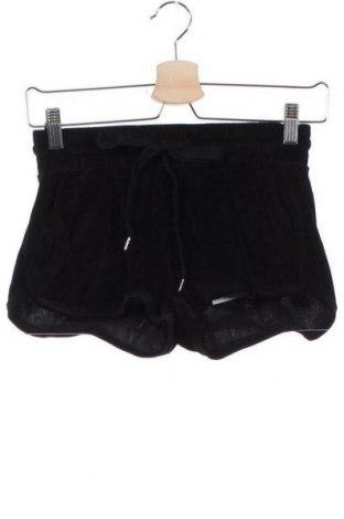 Γυναικείο κοντό παντελόνι Bershka, Μέγεθος XS, Χρώμα Μαύρο, 82% βαμβάκι, 18% πολυεστέρας, Τιμή 9,84€