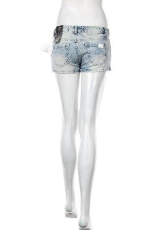 Дамски къс панталон Chillin, Размер S, Цвят Син, 99% памук, 1% еластан, Цена 14,40лв.